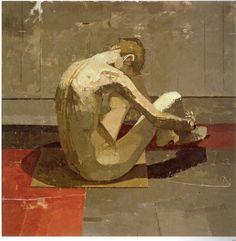 Euan Uglow, British, 1932 - 2000 Figurative painting/ School of London Figure Painting, Figure Drawing, Painting & Drawing, Figurative Kunst, Art Uk, Art Graphique, Klimt, Contemporary Paintings, Oeuvre D'art