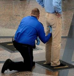 Awkward Airport Security Moments5