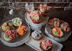 Цветы из крема. Федорова Анна.  (Вконтакте sunliteflower)