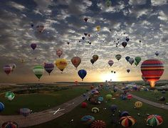 Erie Town Fair and Balloon Festival - Erie CO United States.
