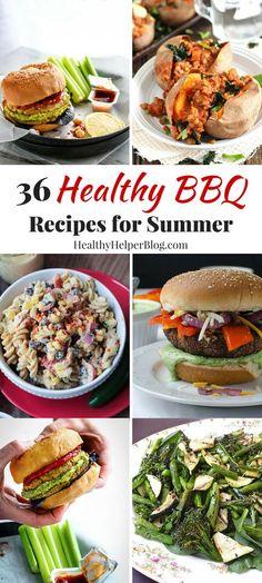 36 Healthy BBQ Recip