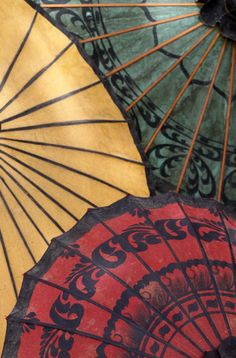 I figured accessories fell under the clothes description... Parasols of Mandaly-Myanmar; Photo by Bertand Linet