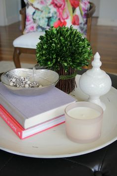 The Rule Of Three For Styling Your Coffee Table | Trays, Cleaning And Coffee