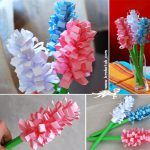 From easy to advanced paper flowers instructions and tutorials for all ages. Paper folded origami and cut paper flowers. Flower Crafts, Diy Flowers, Fabric Flowers, Paper Flowers, Spring Flowers, Flower Art, Spring Art, Spring Crafts, Holiday Crafts