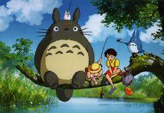 Hayao Miyazaki - making the magic  Totoro, Nausicaa, Princess Mononoke, Spirited Away, Howl's Moving Castle etc...