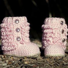CROCHET PATTERN 201 Toddler Boot Little Diva door TwoGirlsPatterns