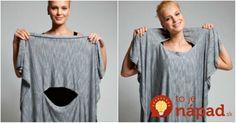 15 krásnych a úžasne jednoduchých modelov, ktoré zvládnete vyrobiť aj bez skúseností so šitím! Tunic Tops, T Shirts For Women, Sewing, Womens Fashion, Fitness, Crafts, Ideas, Caftan Dress, Supreme T Shirt