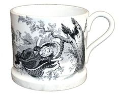 """5 inch plate """"Hey Diddle Diddle"""" I have always loved nursery rhymes. Childrens Cup, Hey Diddle Diddle, Baby Dishes, Antique China, Nursery Rhymes, Mugs, Tableware, Bowls, Blog"""