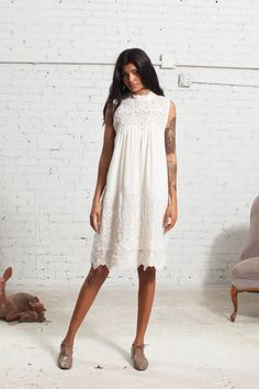 Sea Pre-Fall 2016 Fashion Show   Loving how unique this model is! Sea is designed by Sean Monahan and Monica Paolini
