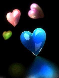 Сердечки - анимация на телефон №967505