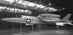 Bell D188A - Mach2 capable VTOL mock-up 1961