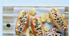 Menu Brunch, Croissants, Hamburger, Sandwiches, Bbq, Tacos, Good Food, Cooking Recipes, Lunch