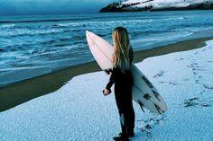 Snow at Clifton Beach