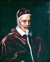 Clement X  Papacy began29 April 1670  Papacy ended22 July 1676  PredecessorClement IX  SuccessorInnocent XI  Orders  Ordination6 April 1624  Consecration30 November 1627  byScipione Caffarelli-Borghese  Created Cardinal29 November 1669  Personal details  Birth nameEmilio Bonaventura Altieri  Born13 July 1590  Rome, Papal State  Died22 July 1676 (aged86)  Rome, Papal State