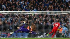 Liverpool 1-1 Man City* (Pens 1-3) . Caballero steps up and does his job well! He absolutely shut down Liverpool's hopes every time they stepped up to the spot #ManCityChamps #HeroCaballero #RedsPlayedWell