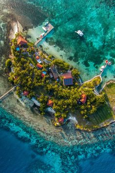 Hatchet Caye Island Resort This private island retreat is 17 miles off Belize's central coast. #Jetsetter