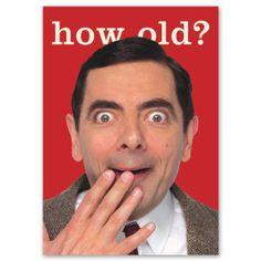 Mr Bean bday wishes