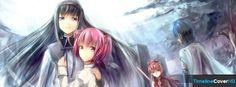 Mahou Shoujo Madoka Magica Timeline Cover 850x315 Facebook Covers - Timeline Cover HD