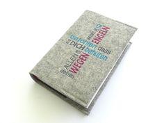 Büchertaschen - Gotteslobhülle Wollfilz - ein Designerstück von susannes-kreative-seite bei DaWanda