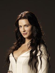 Character castings: Bridget Regan as the beautiful Veronica Dragonvale, daughter of a water fairy
