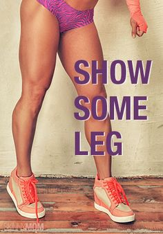 Here are the beset leg exercises you can do at home!  Check them out.