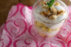 Trifle met mango en witte chocolade: een snel, maar overheelijk dessert!
