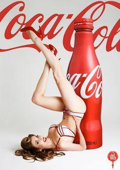 () Coca-Cola pin-up Vintage Coca Cola, Pub Vintage, Pin Up Girl Vintage, Photo Vintage, Retro Pin Up, Vintage Signs, Coca Cola Poster, Coca Cola Ad, Always Coca Cola