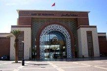 محطة مركش للقطار بُنيت لتوسيع إمكانيات خدمة القطارات في مراكش والمغرب، يحوي المبنى عدة   مطاعم ومتاجر لتوفير الراحة للمسافرين وتأمين احتياجاتهم.