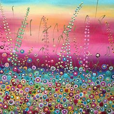 Flower Meadow by Julie Ryder
