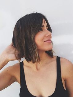Chloe Bennet shows off her new haircut for Agents of SHIELD's third season, in which she plays Daisy Johnson/Quake, previously known as Skye.