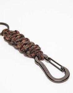 Key Chain in Fall Camo