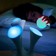 The Color-Changing Glo Nightlight Has Removable Glowing Balls You Can Take With You, Keeping You Safe From Monsters And Stubbed Toes.
