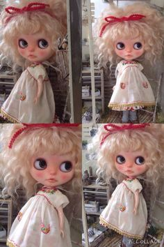Custom Blythe Dolls: Piccollage Custom Blythe - A Rinkya Blog