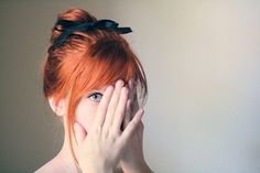 A bow in your hair is the perfect feminine accessory.