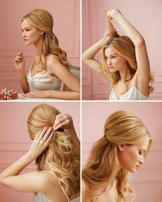 peinados rapidos para pelo largo o corto