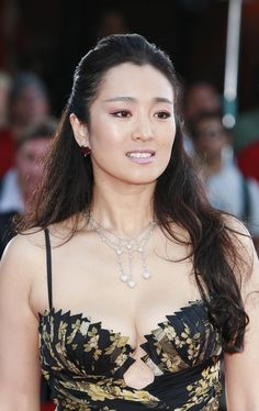 The beautiful Gong Li ...  Voguish mode...   Her other English-language roles to date included Chinese Box in 1997, Miami Vice in 2006 and Hannibal Rising in 2007.