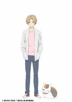 Imagen promocional de la quinta temporada de  Natsume Yuujin-Chou al aire en Octubre.
