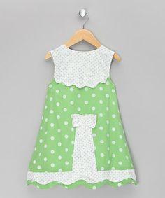 Floral Green Bird Jumper - Infant, Toddler & Girls | Daily deals for moms, babies and kids