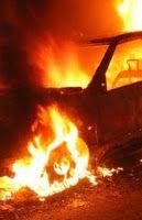 O Palhetas na Foz: Carro ardeu hoje de madrugada no Alqueidão