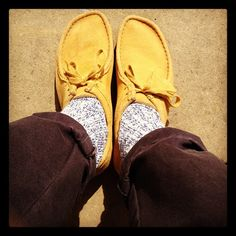 Yellow Wallabees Instagram photo by @benjamin8823