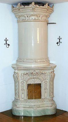 ceramic stove - Stockholm circa 1890