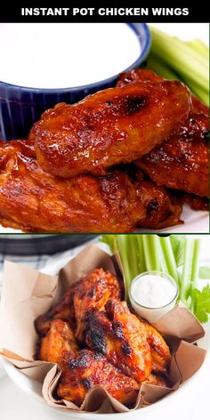 These are the best instant pot chicken wings, covered in a delicious BBQ sauce and cooked to a crispy perfection! The best part about cooking meat in an instant pot is that you can use frozen or thawed meat. I can't tell you the number of times I have for Best Instant Pot Recipe, Instant Recipes, Instant Pot Dinner Recipes, Instant Pot Wings Recipe, Instant Pot Pressure Cooker, Pressure Cooker Recipes, Pressure Cooker Chicken Wings, Pressure Cooking, Sauce Barbecue