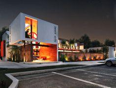 Exterior Rendering Project: Urban Stop Restaurant