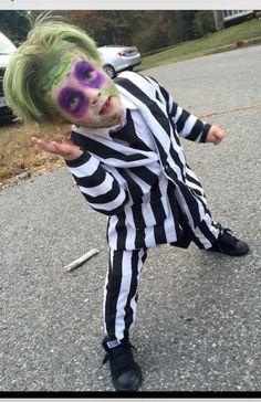 Beetlejuice costume halloween suit boy by Maharai on Etsy