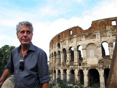 Anthony Bourdain's Rome Travel Tips. Must try cacio e pepe