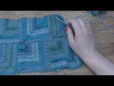 Modulové pletení - spojování čtverců 3. - knitting squares - YouTube Knitting Squares, Knitting Videos, Tunisian Crochet, Crochet Crafts, Fingerless Gloves, Arm Warmers, Youtube, Pattern, Crocheting