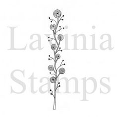 Lavinia Stamps  Zen-rose