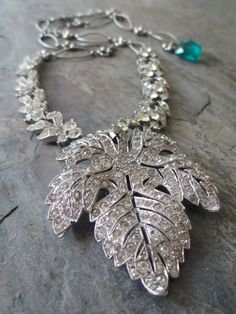 MAPLE SUGAR vintage assemblage necklace by The French Circus, $145.00