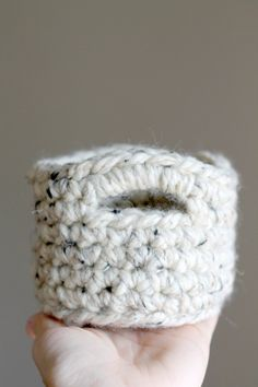 I'm excited and happy to share this pattern with you today! I have had a lot of fun making these cute little guys. Right now I am using one for all of my little knit and crochet notions. You …