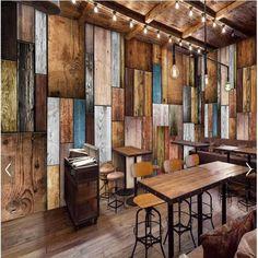 Large European And American Fashion Custom Mural Wallpaper Wood Living Room  TV Background Wall Paper Wandgestaltung
